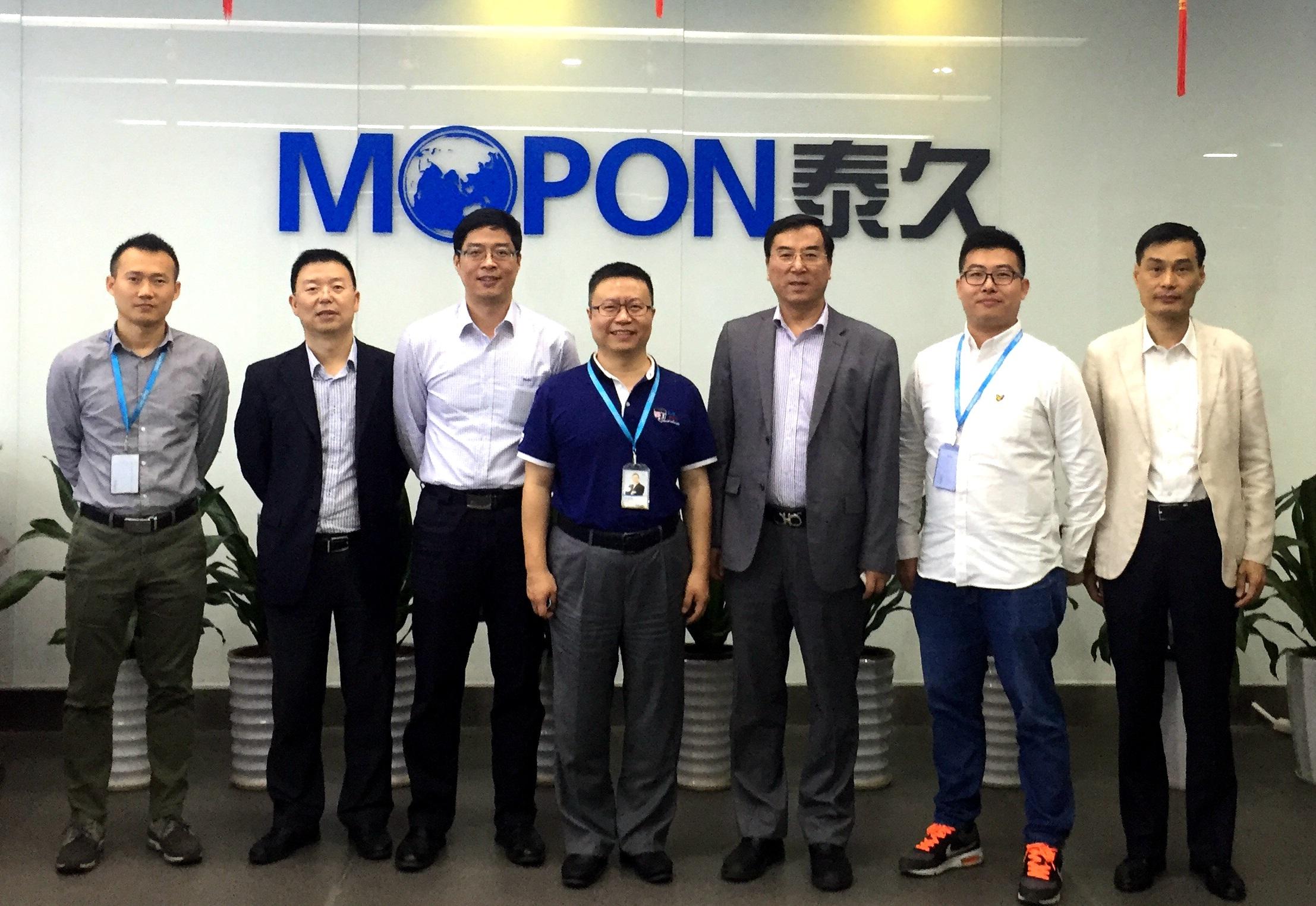 港中旅京华国际旅行社领导一行到访泰久,全力助推景区智慧升级